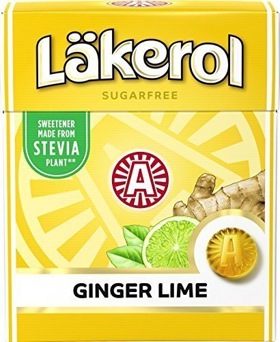 LÄKEROL GINGER LIME 25g
