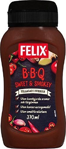 FELIX BBQ Sauce  Sweet & Smokey  370ml