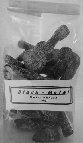 GRAHNS Black metal - Hot Lakritz 100g