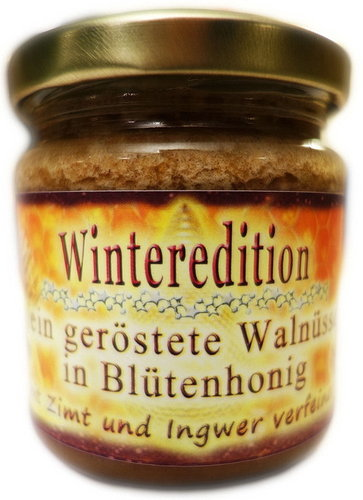 "Deutscher Honig Winteredition ""Walnuss"" 250g"