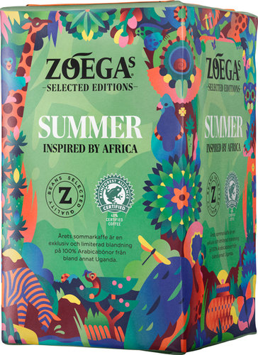 "ZOÉGAS selected Edition ""SUMMER"" insp by Africa, gemahlen 450g"