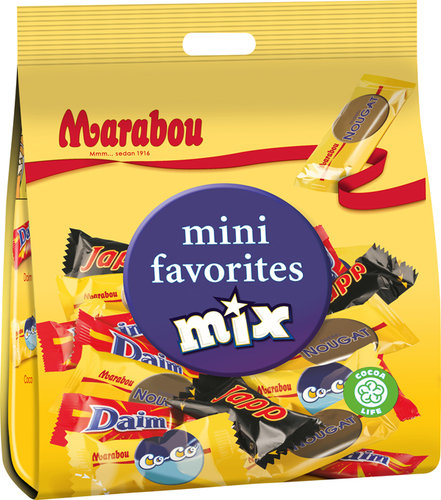 MARABOU Mini favorites Mix 188g Tüte