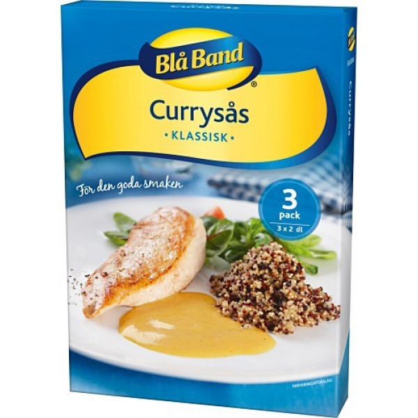 Blå Band Currysås - Curry-Soße 3er-Pack