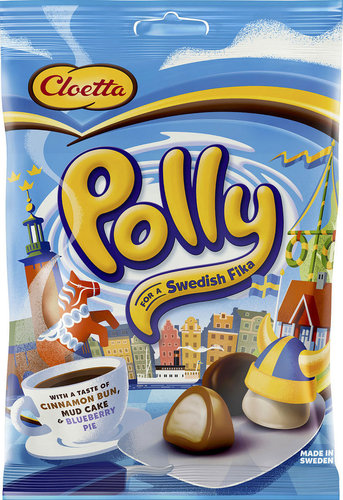 CLOETTA Polly  for a Swedish Fika 100g